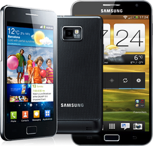 Reraration Galaxy S2 et Note N7000