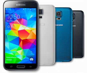 Declinaison couleurs Galaxy S5